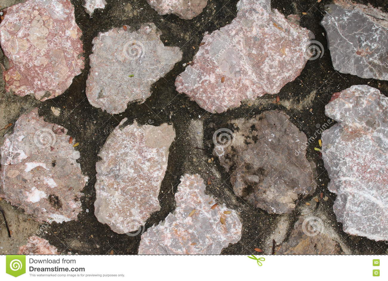 Szczegółowe prawdziwe tło bardzo kamień
