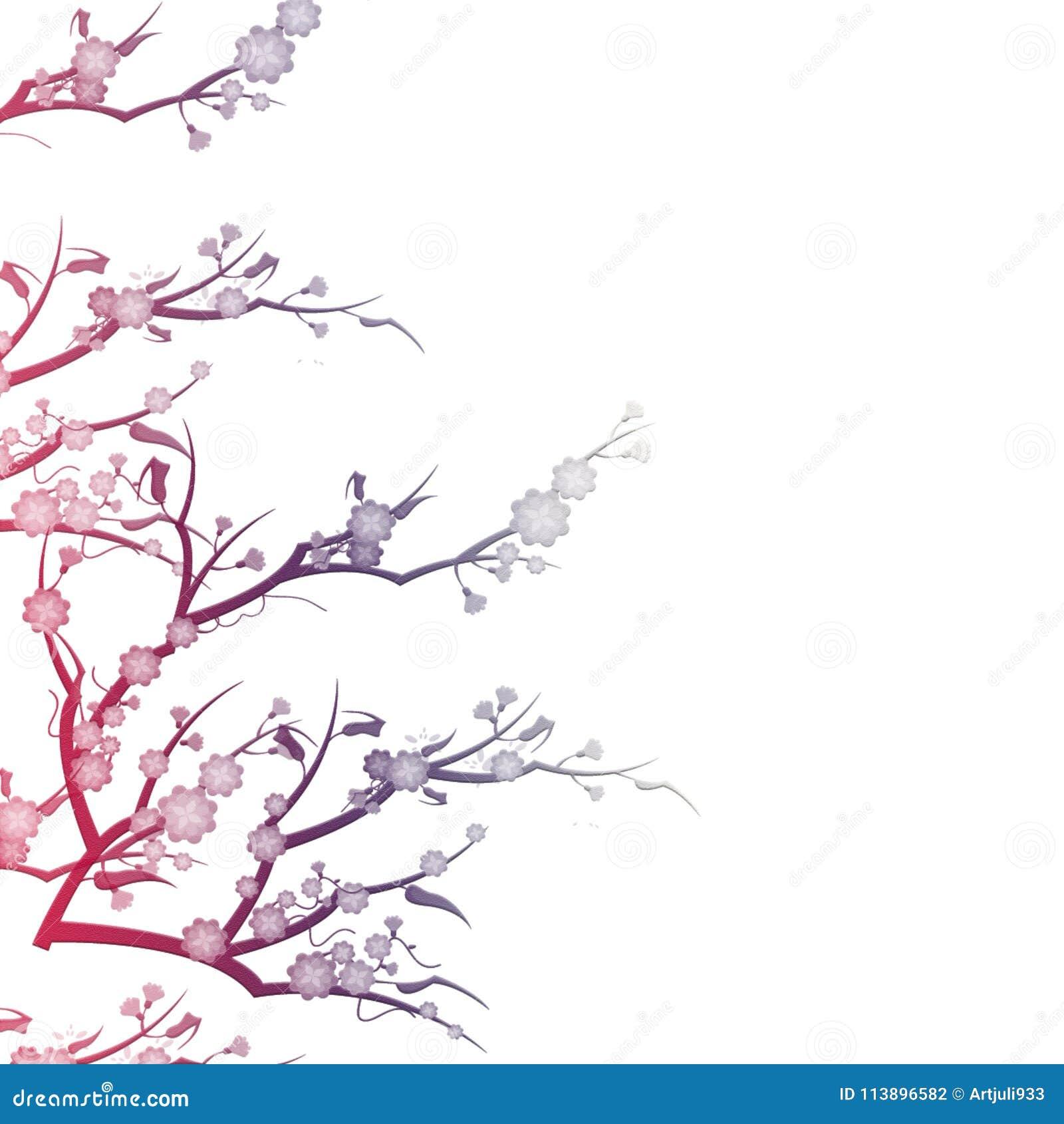 Szczegółowy Rysunek Kwiecisty Pochodzenie Wektora Zaproszenie ślub