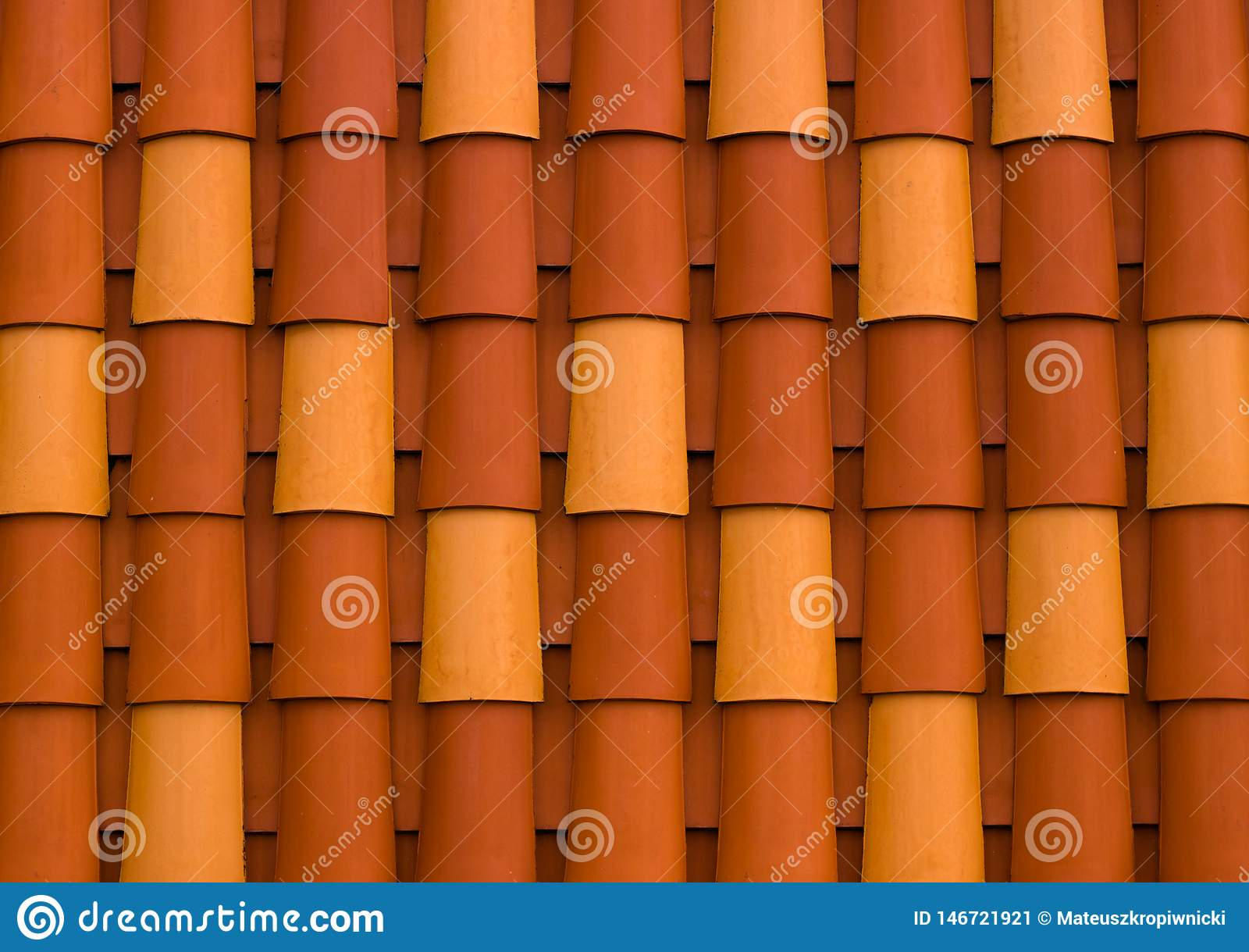 Szczeg??y kolorowy dach