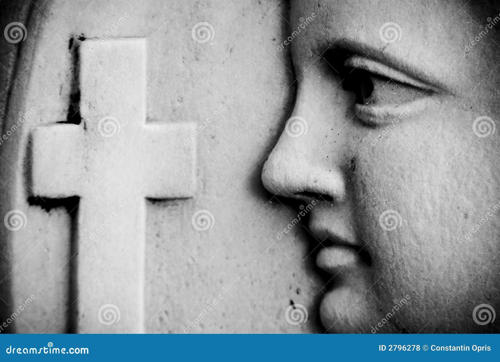 Szczegóły religijna ściany