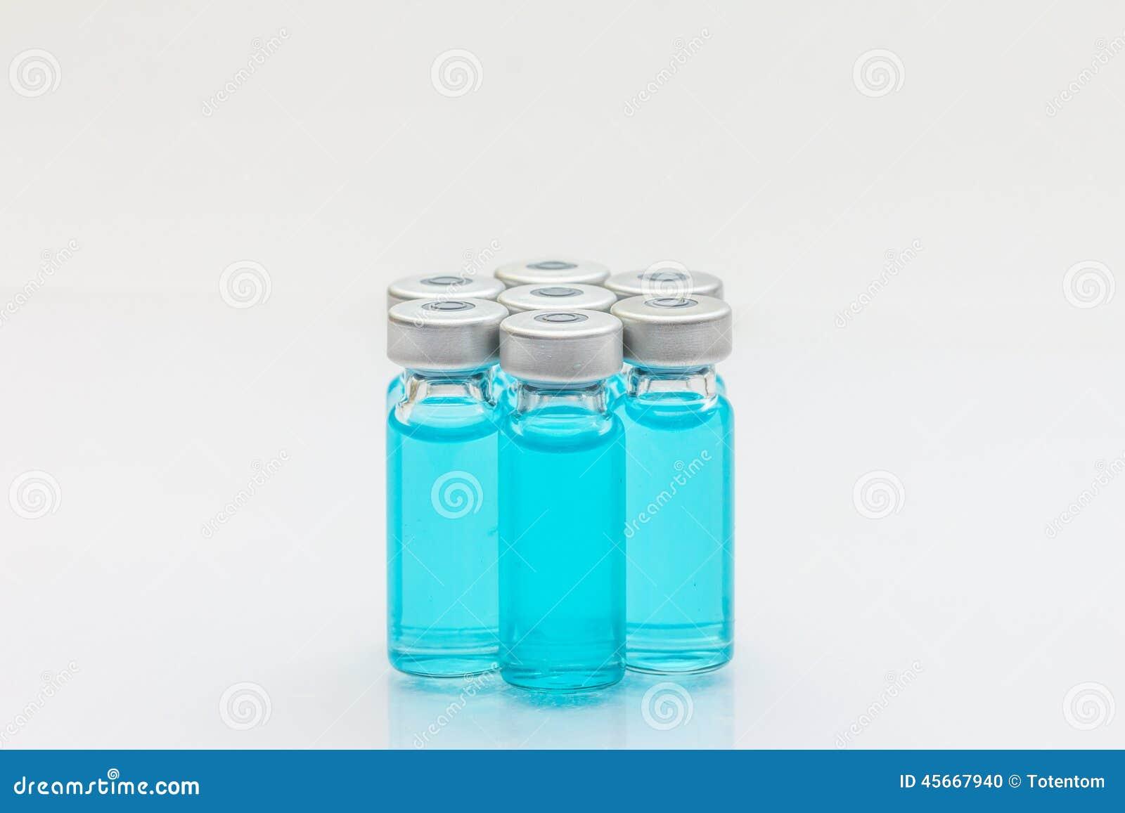 Szczepionka i hypodermic strzykawka