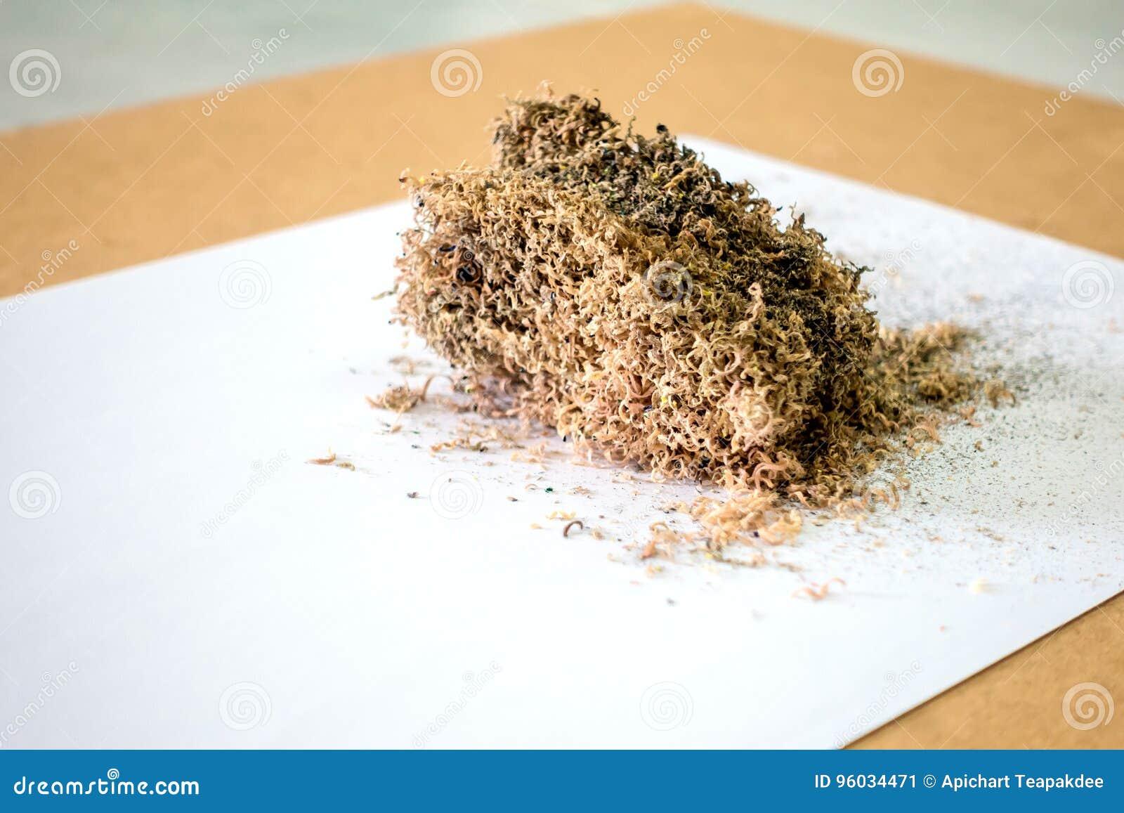 Szczerbi się drewno