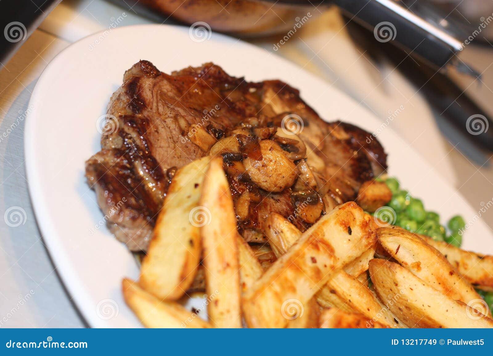 Szczerbi się stek