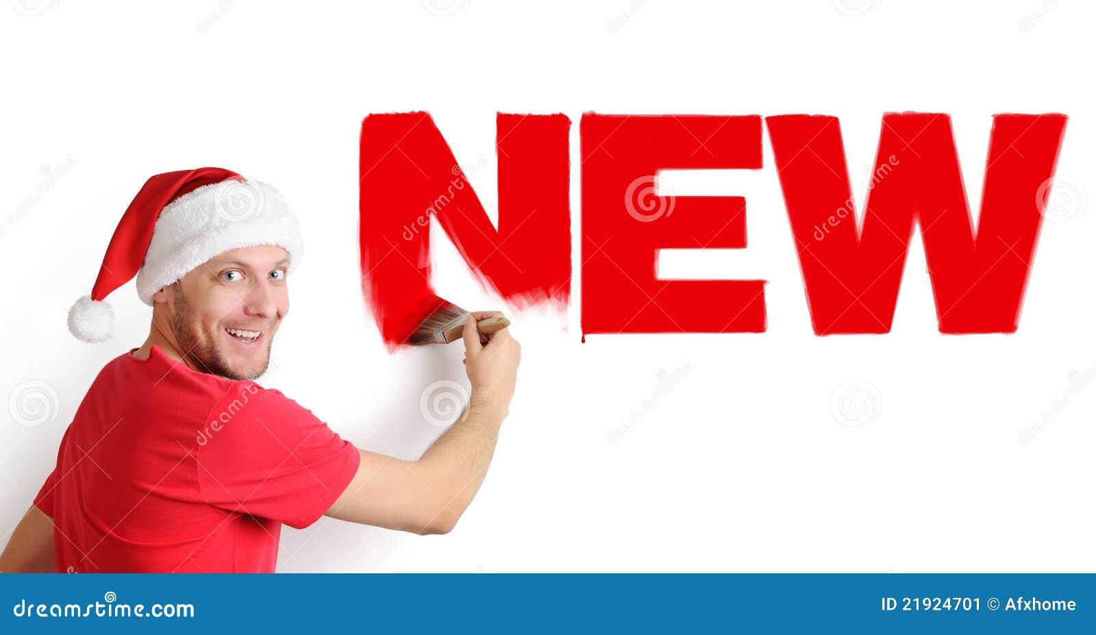 Szczotkarski Claus maluje Santa tekst