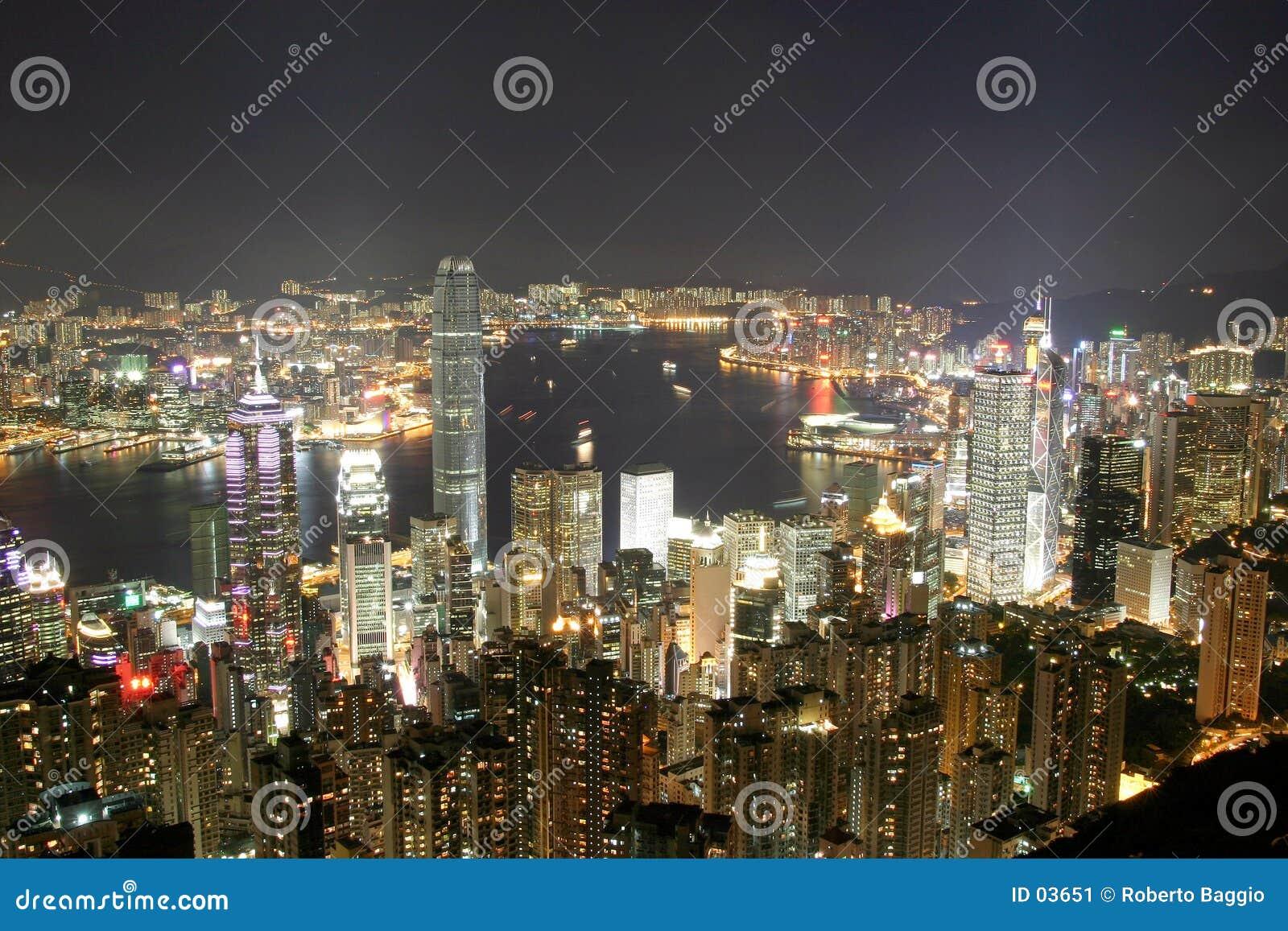 Szczyt w hong kongu.