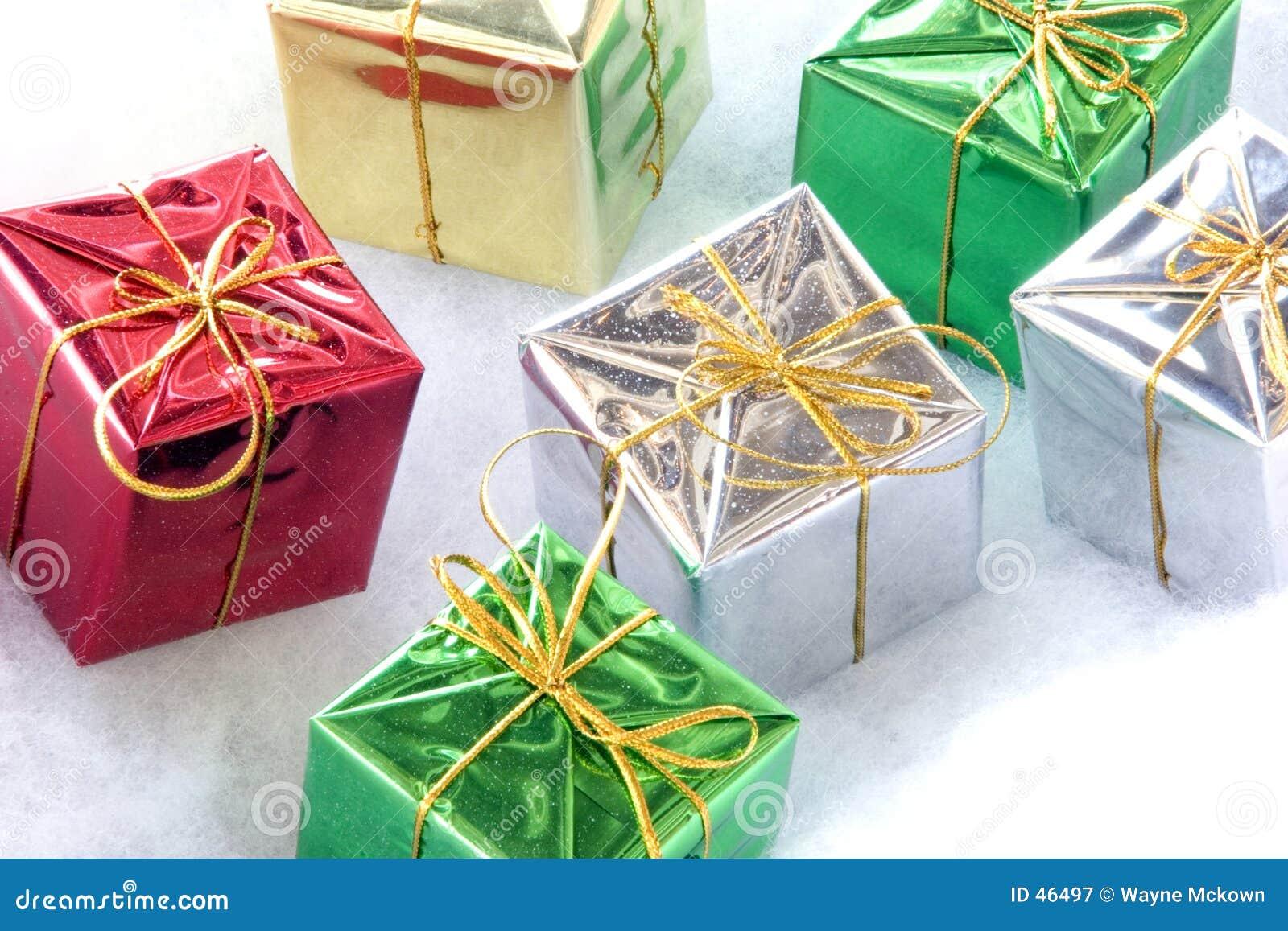 Sześć prezenty