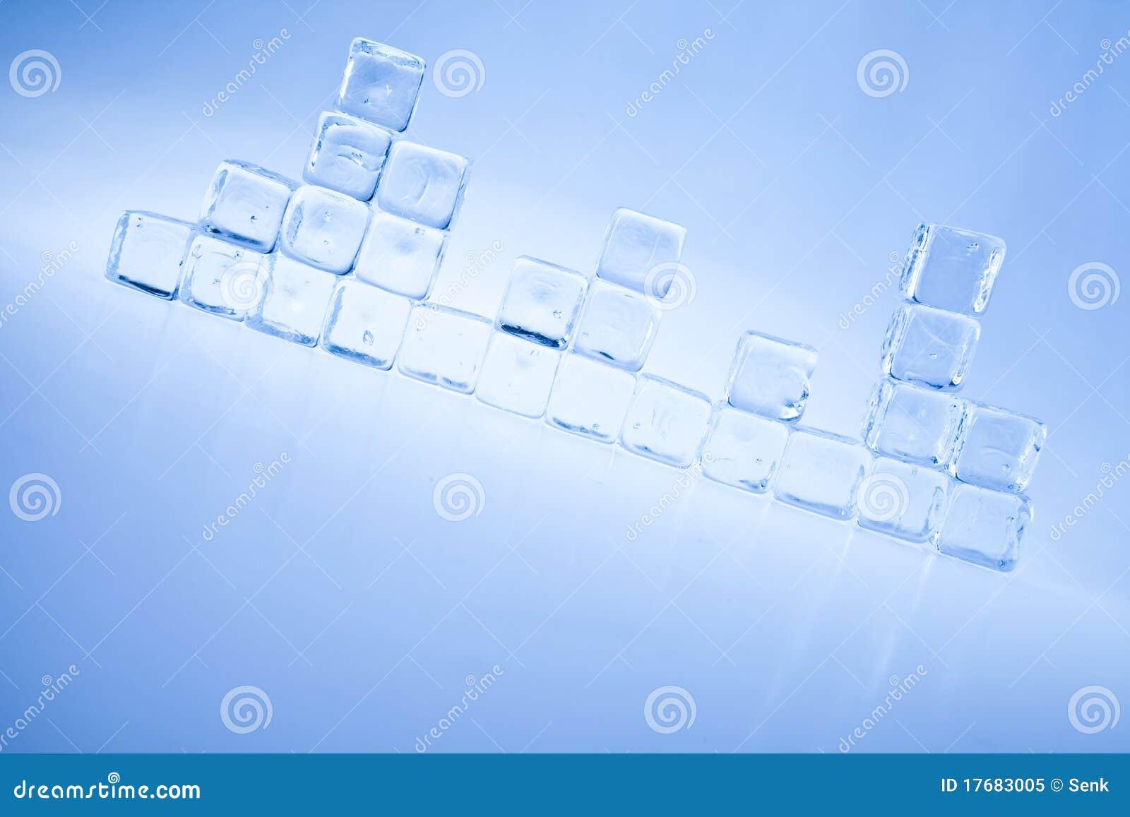 Sześcianu lód