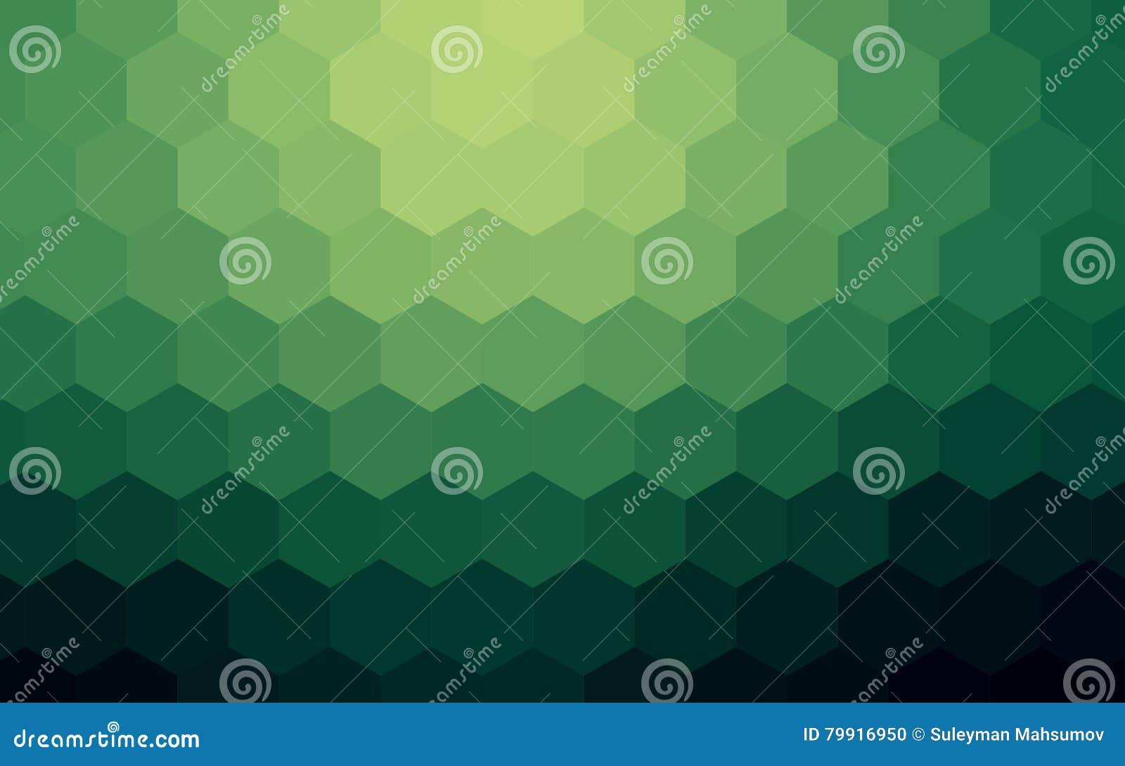 Sześciokąta abstrakcjonistyczny kolorowy tło