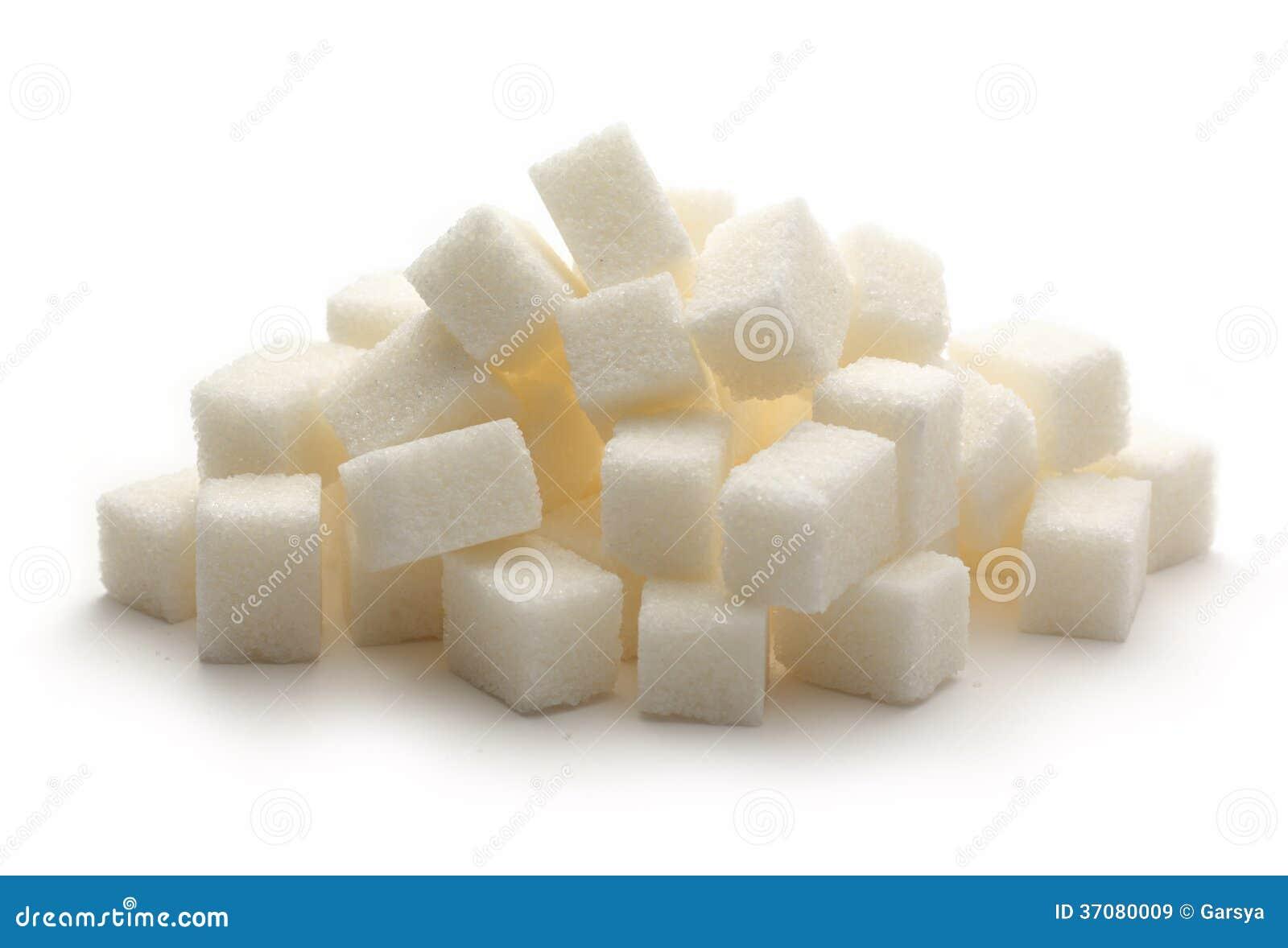 Download Sześciany cukier obraz stock. Obraz złożonej z zbliżenie - 37080009