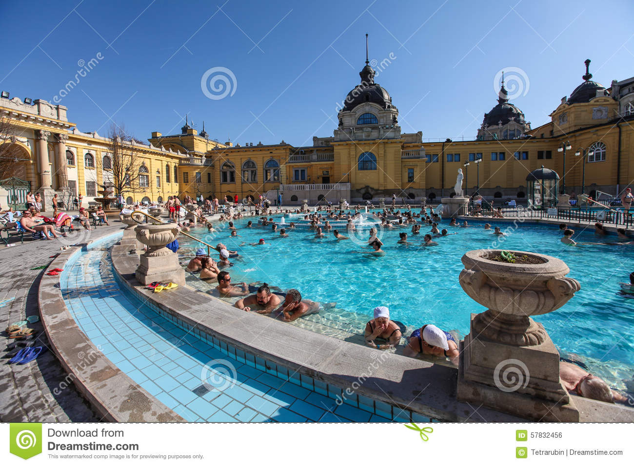 The szechenyi spa bath therms in budapest editorial for A list salon budapest