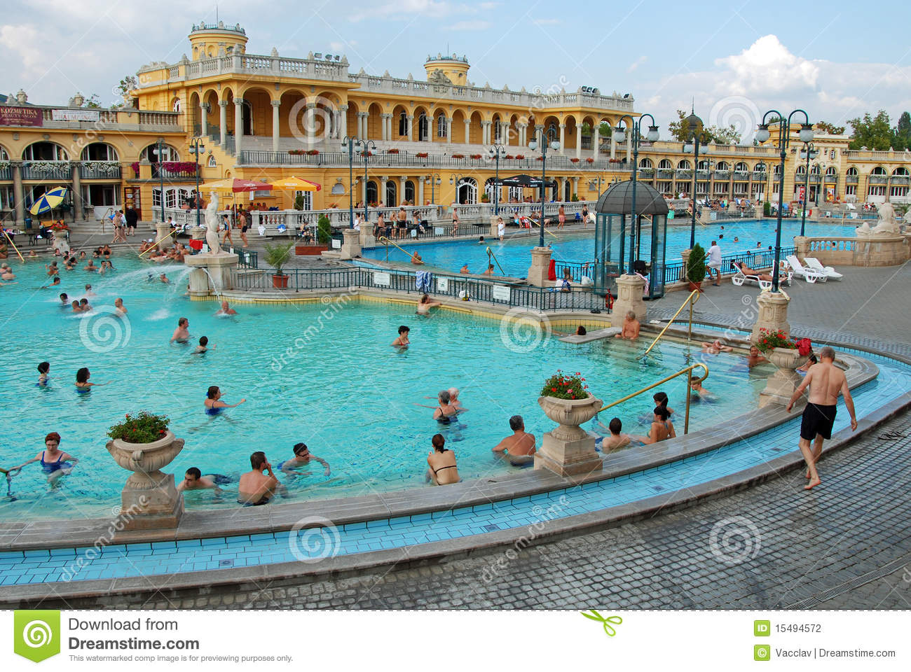 The szechenyi spa in budapest editorial photography for A list salon budapest