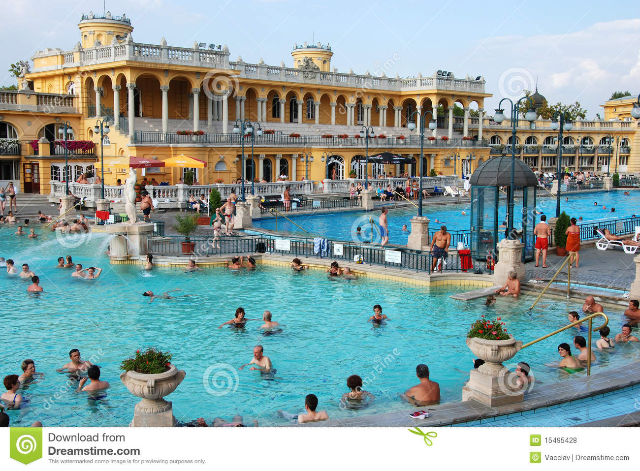 The szechenyi spa in budapest editorial stock photo for A list salon budapest