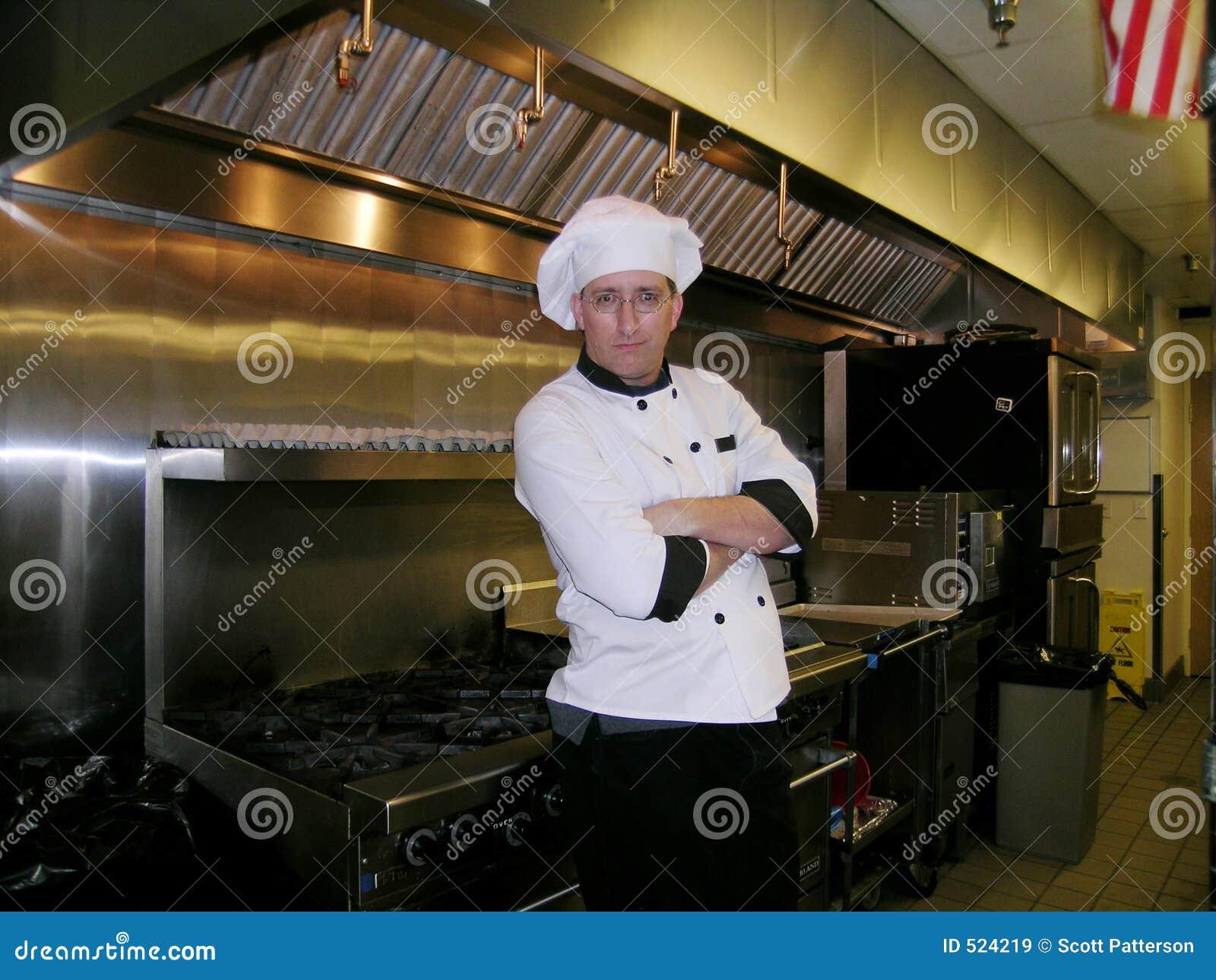 Szef kuchni cocky