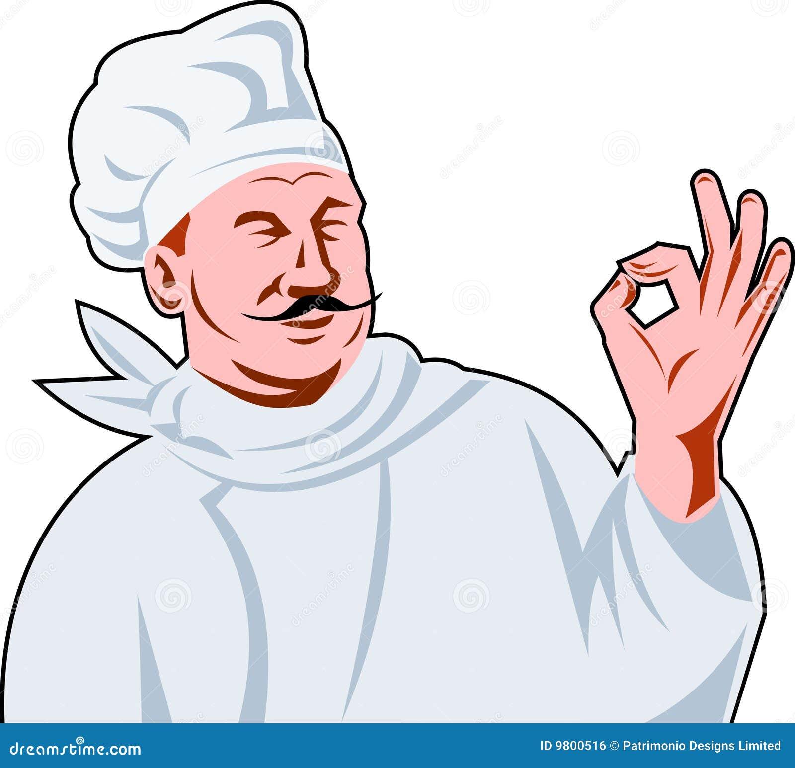 Szef kuchni kucbarski włocha ok znak
