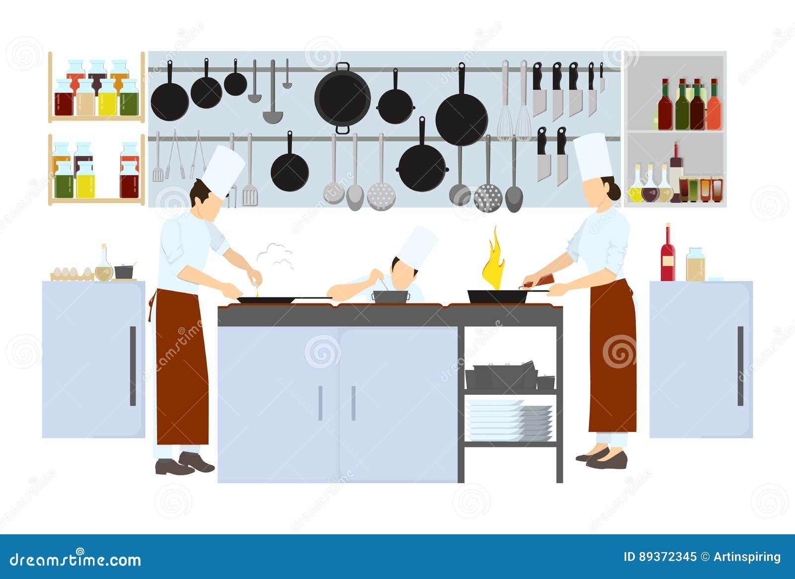 Szef kuchni na kuchni