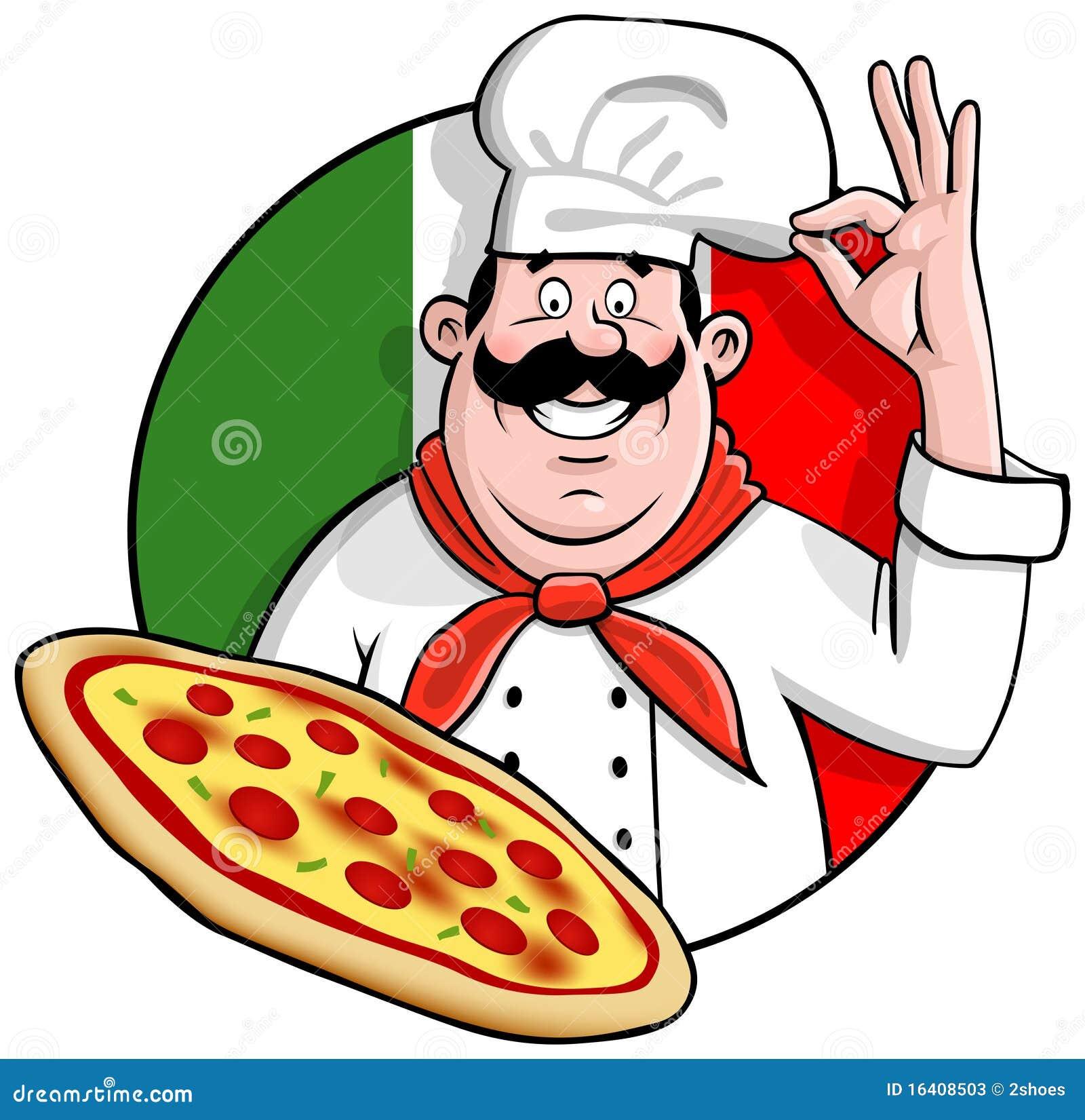 Szef kuchni pizza