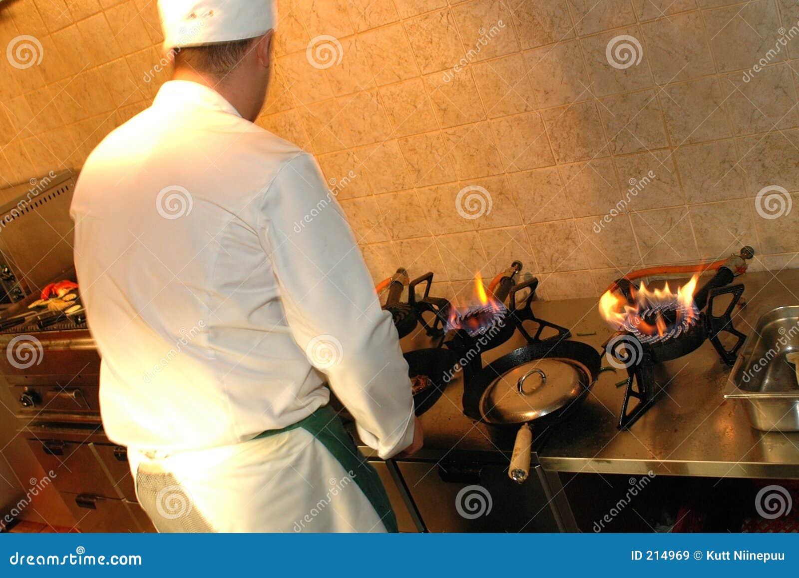 Szef kuchni pracy