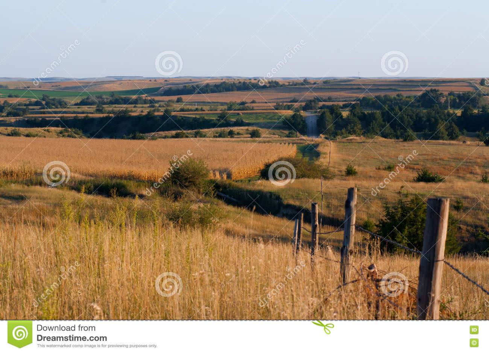 Szenische Ansicht des River Valley
