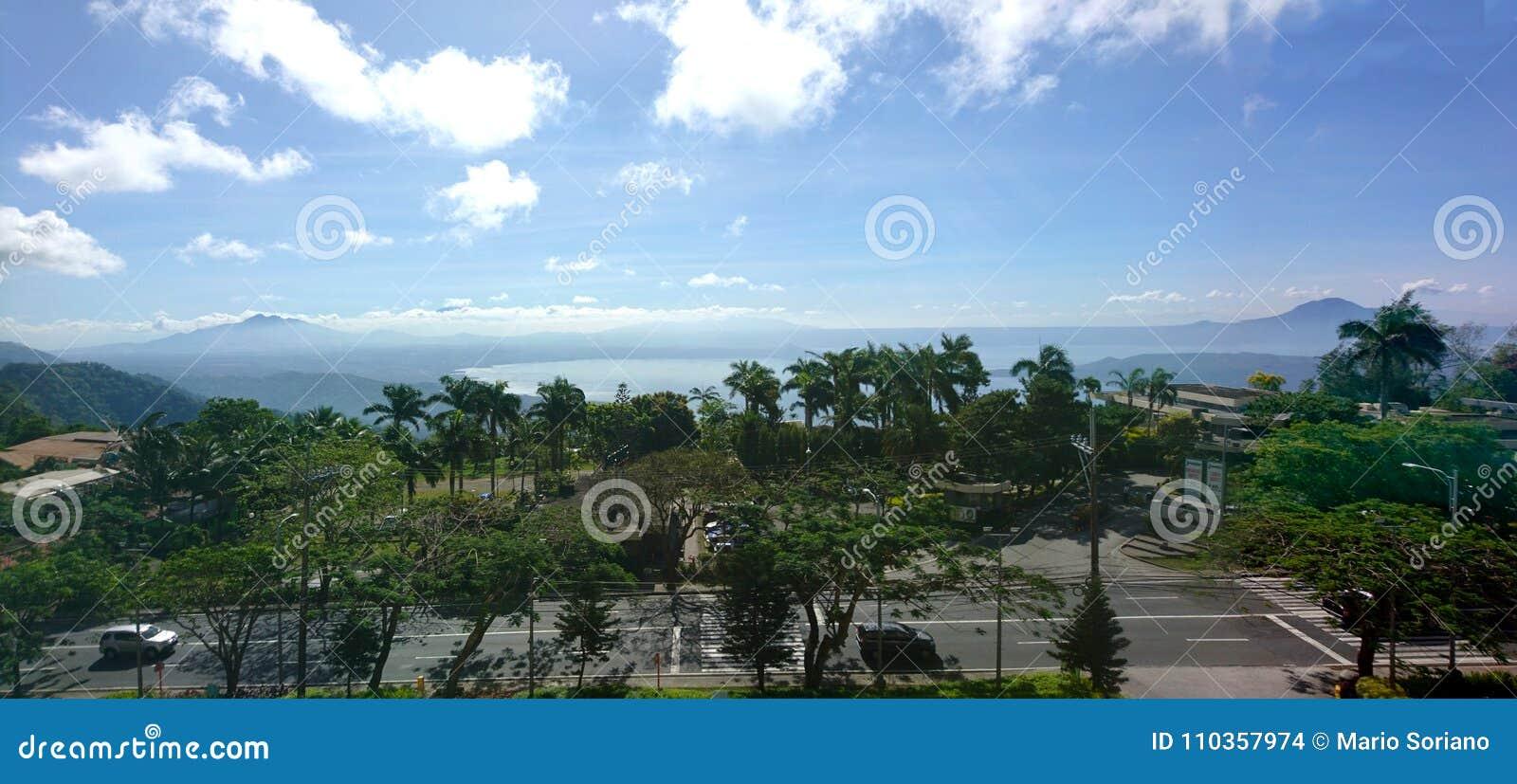 Szenische Ansicht Tagaytay-Stadt