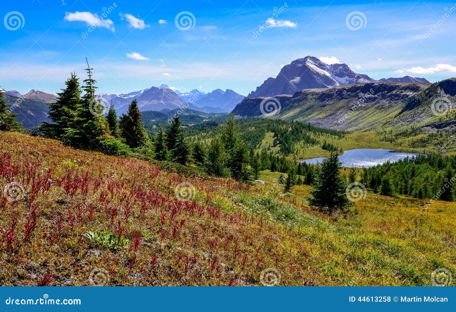 Szenische Ansicht von Bergen in Nationalpark Banffs, Kanada