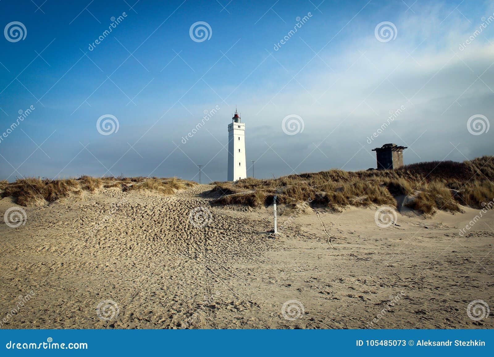 blavand leuchtturm