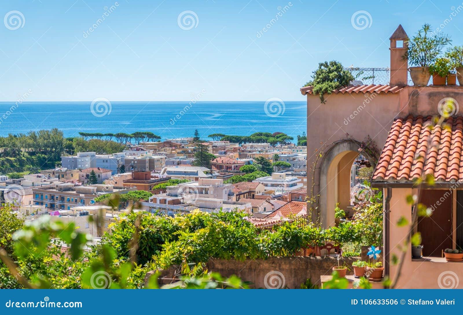 Szenischer Anblick In Terracina, Provinz Von Latina, Lazio ...