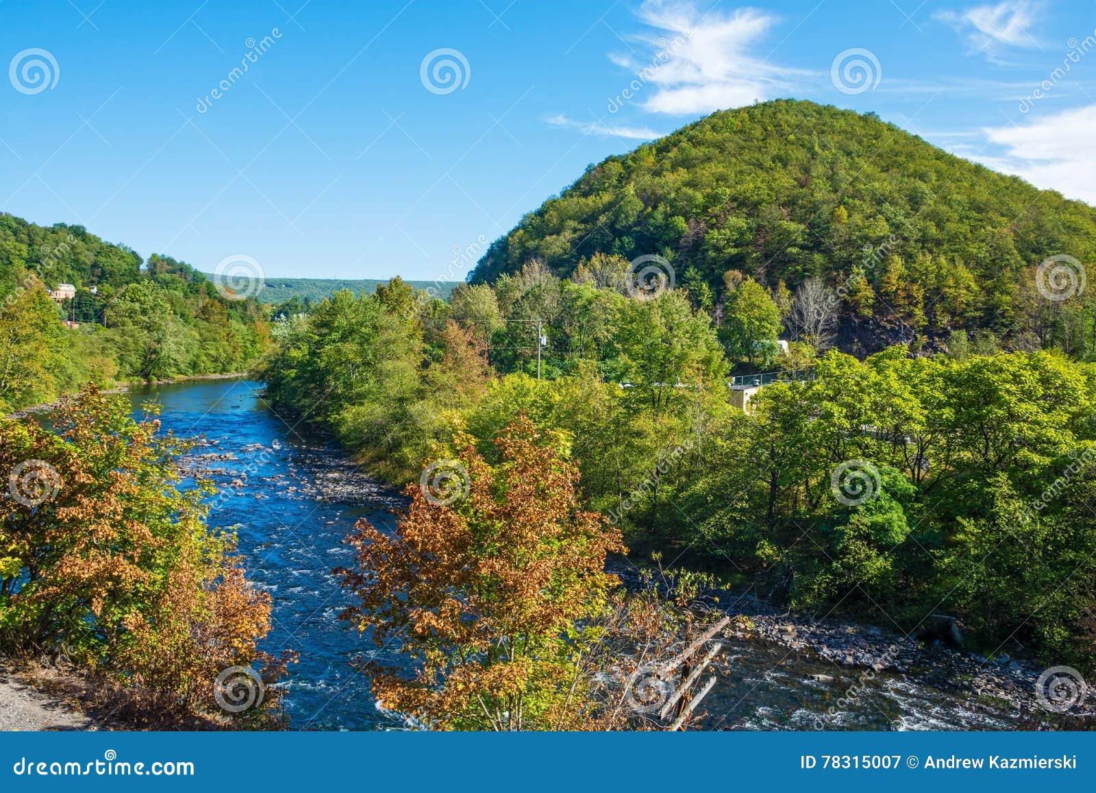 Szenischer Lehigh-Fluss