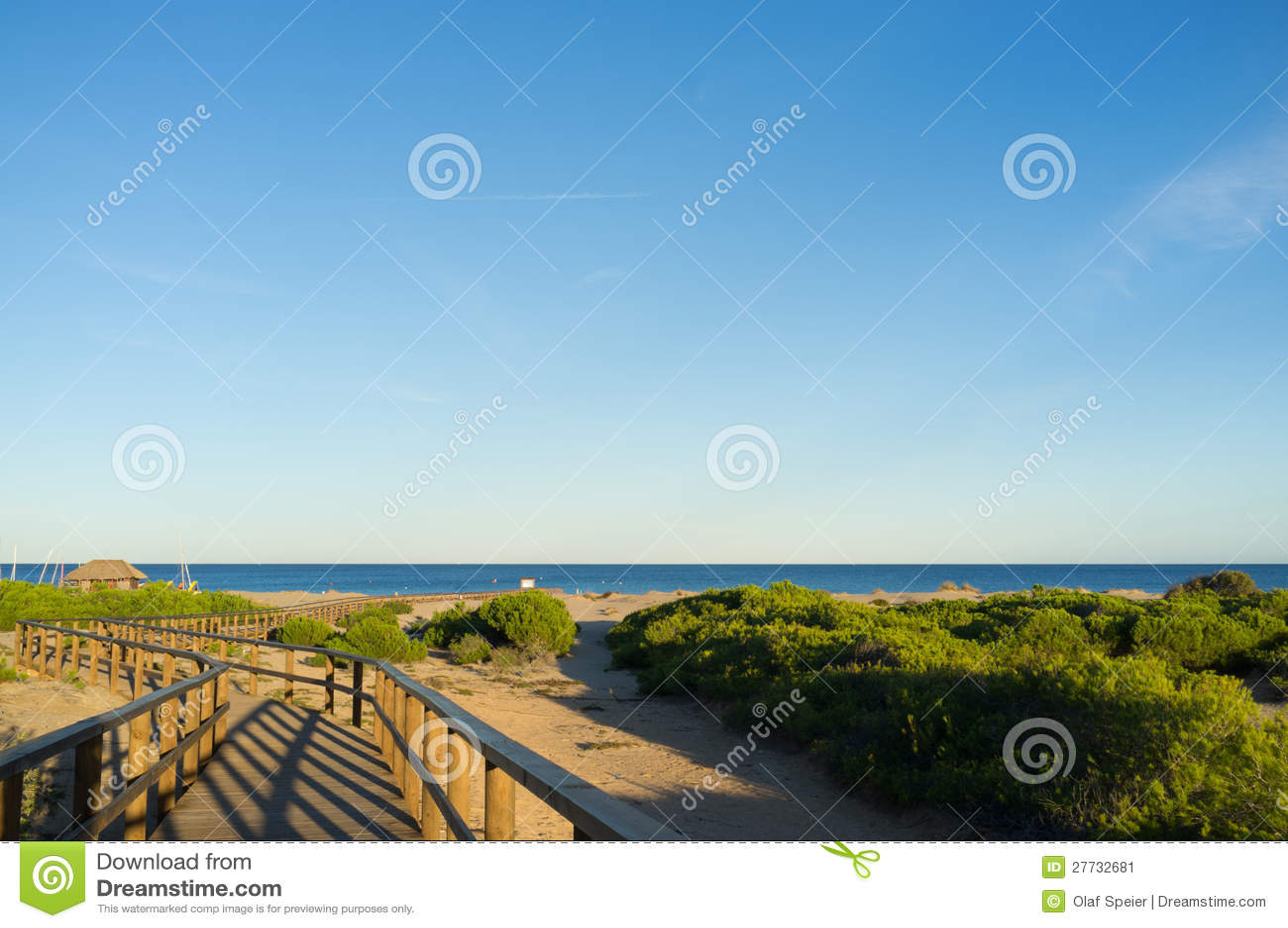 Szenischer Strand