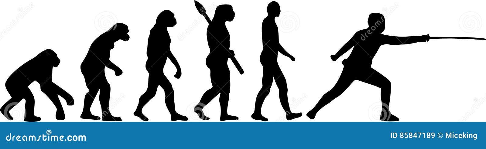 Szermiercza ewolucja