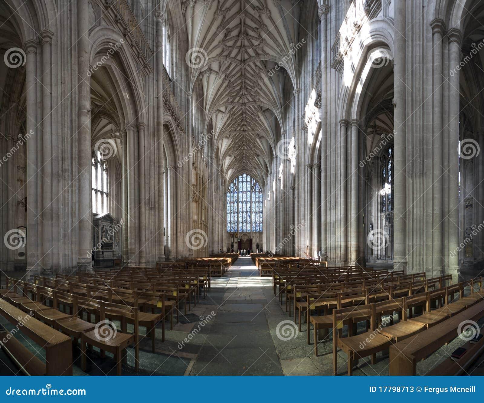 Szeroka kąt katedra