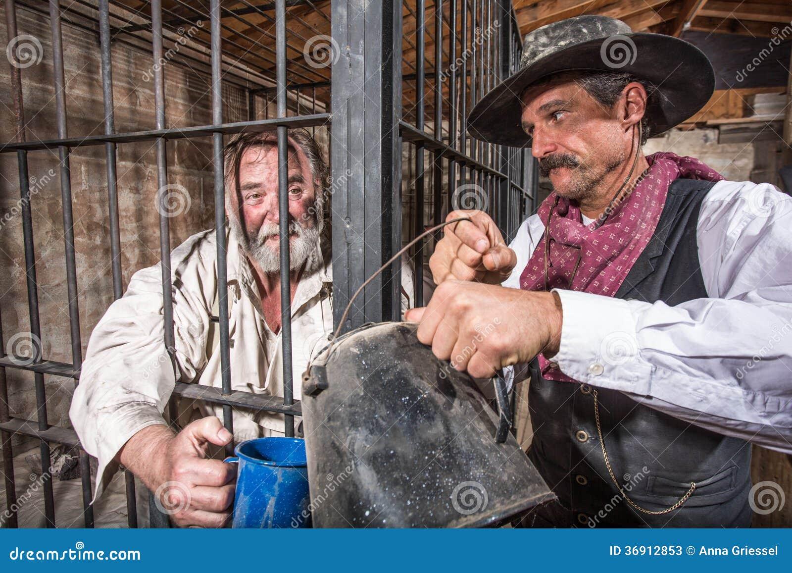 Szeryf Miewa skłonność więzień