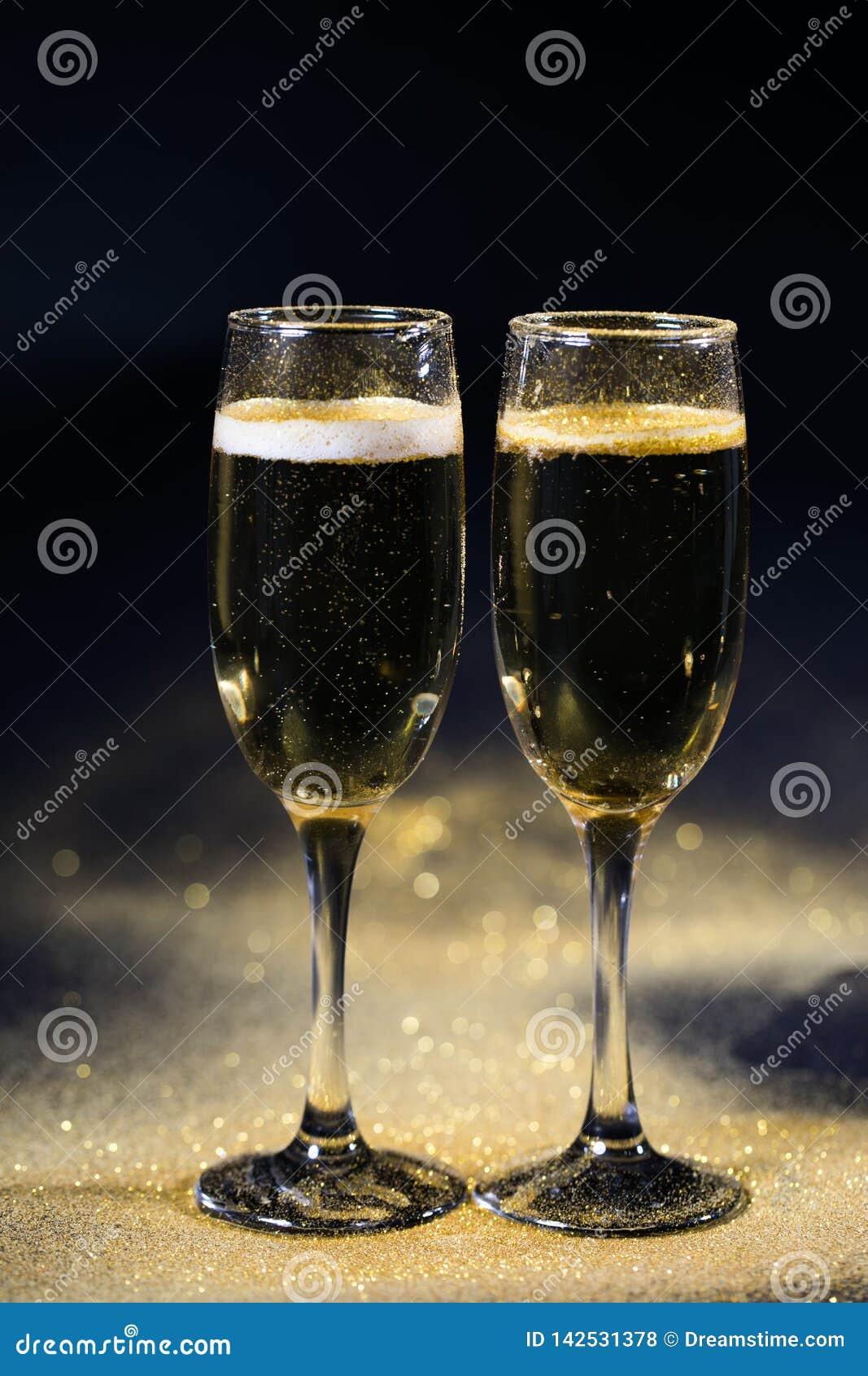Szkła szampan