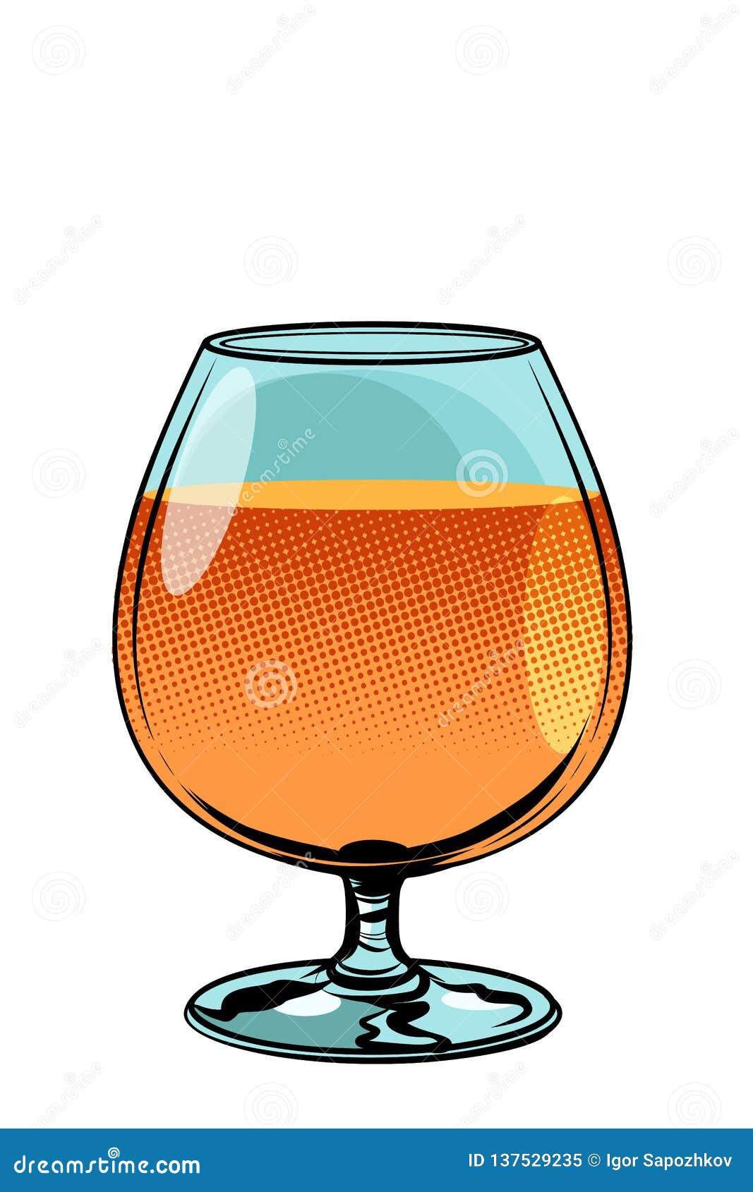 Szkło koniaka brandy