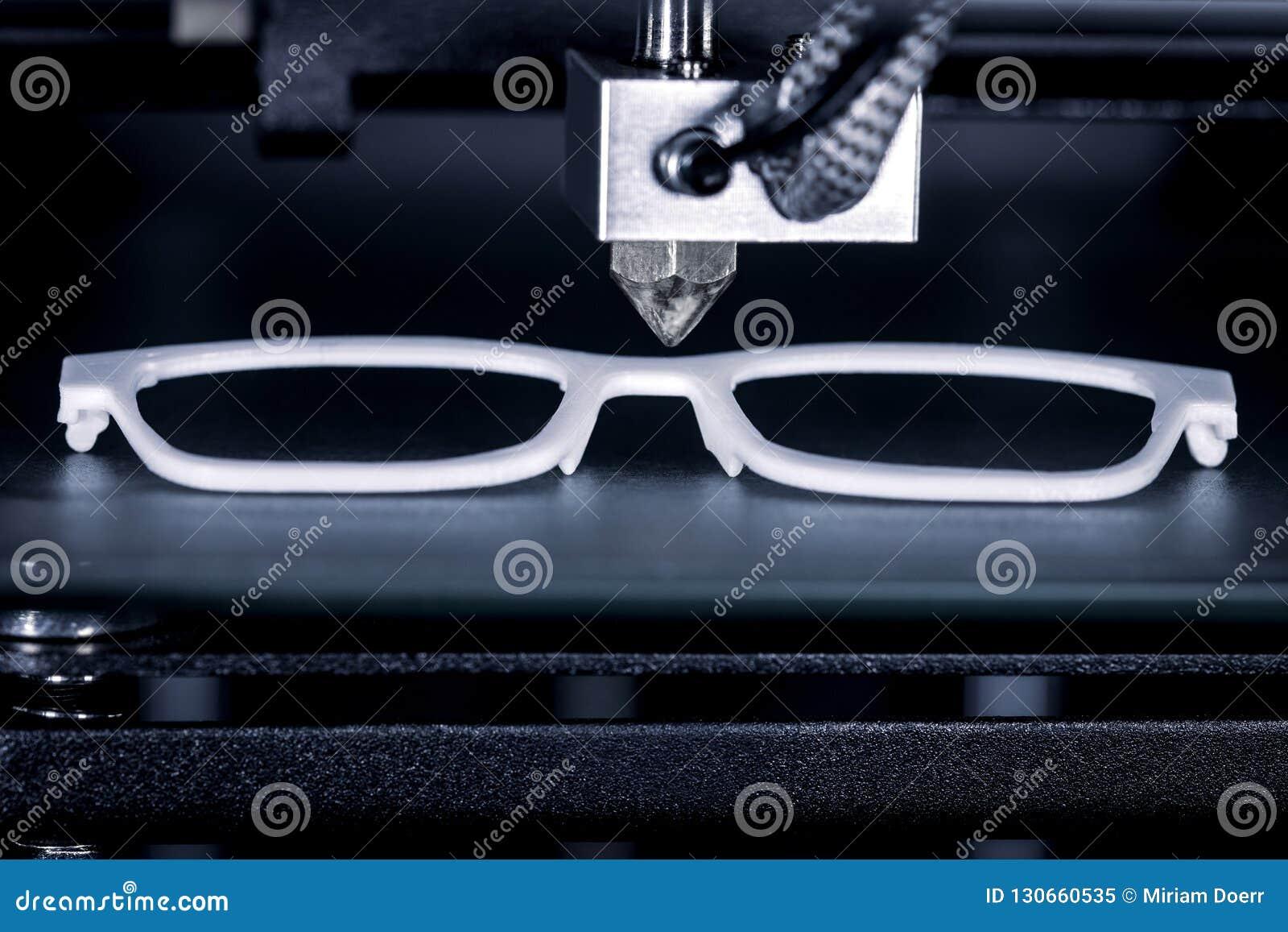 Szkło rama drukuje z 3D drukarką