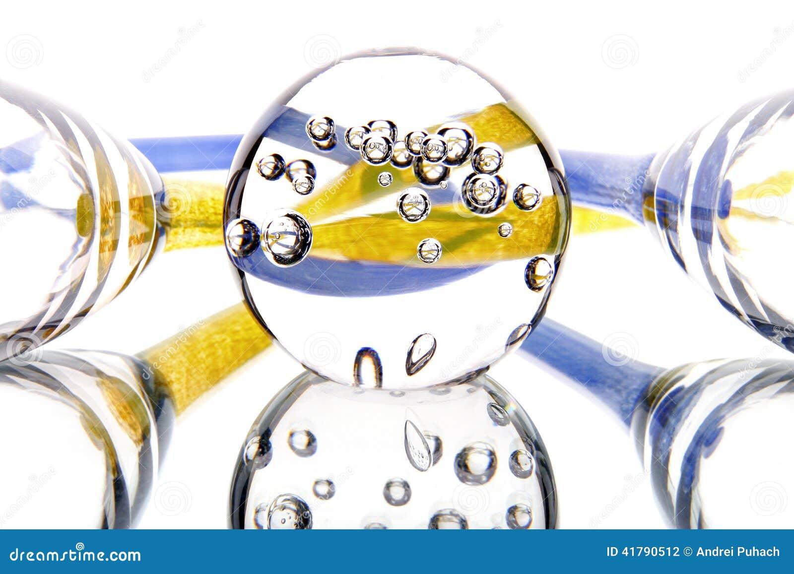 Szklanego lustra światła abstrakci wakacje