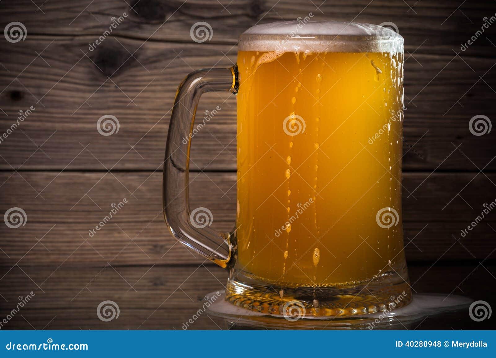 Szklany piwo