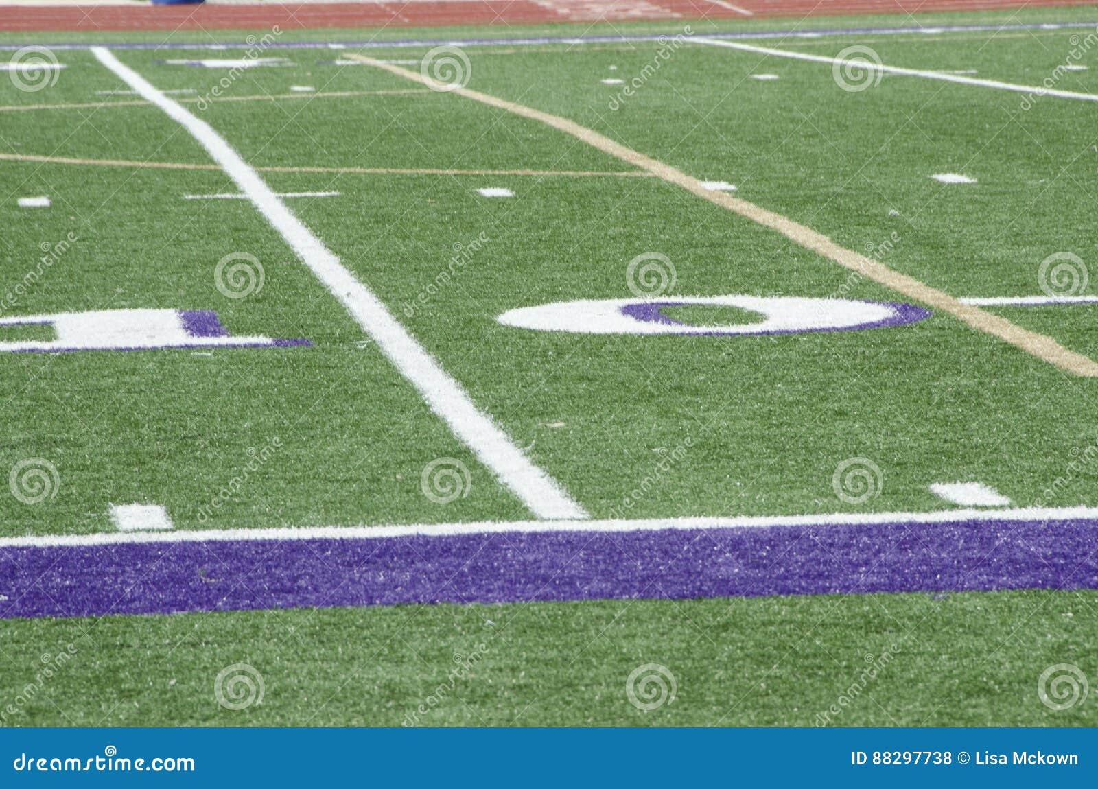 Szkoły Średniej boisko piłkarskie