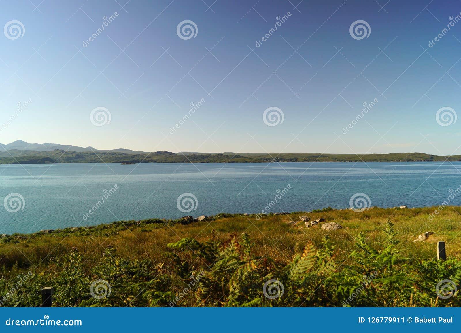 Szkocki wybrzeże Obraz Stock