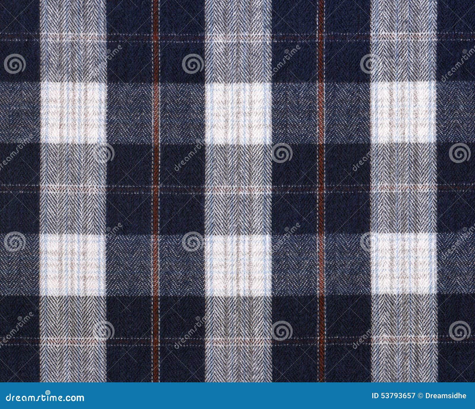 Szkockiej kraty tkanina