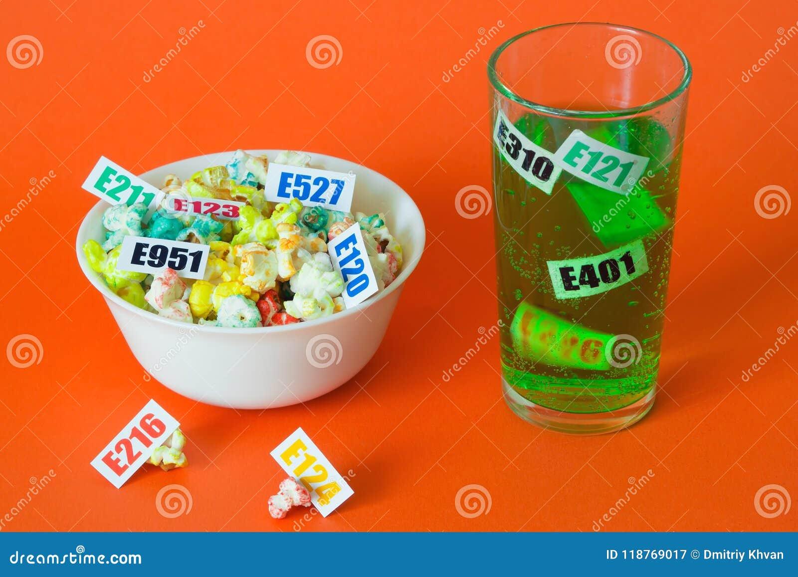 Szkodliwi karmowi additives