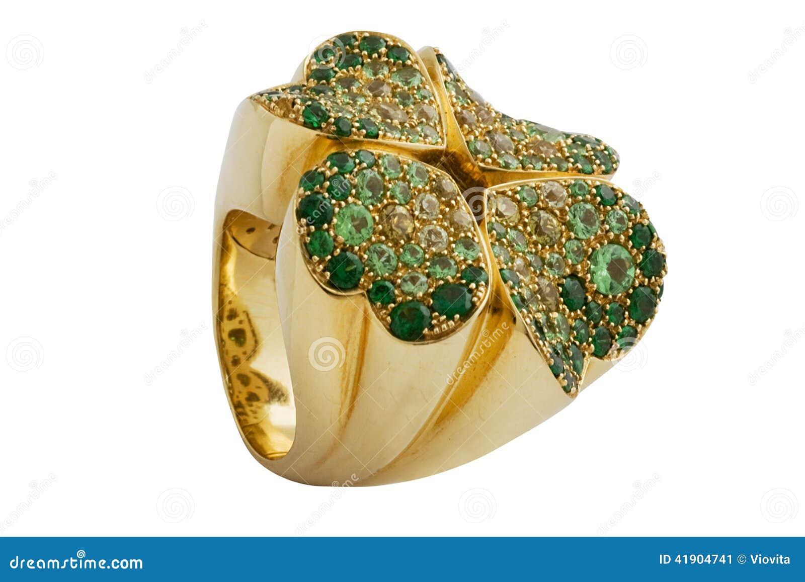 Szmaragdu pierścionek