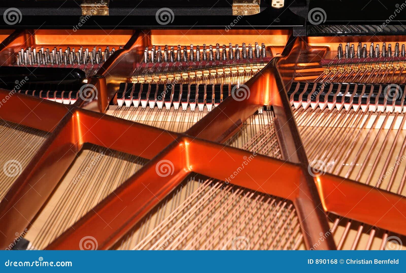 Sznurki fortepianowi