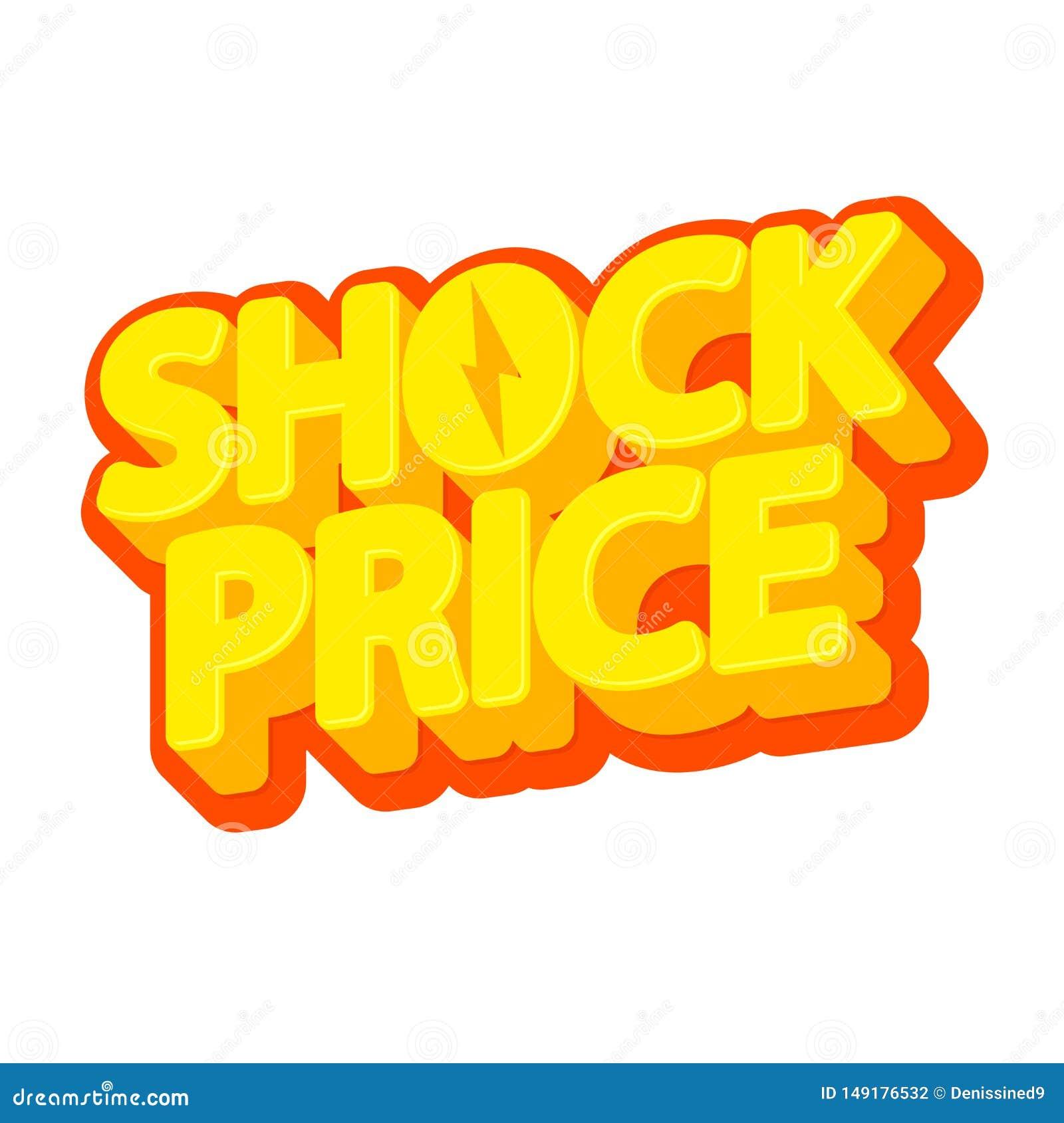 Szokuje cenę, pomija odosobnionego majcheru, sprzedaży etykietka, plakatowy projekta szablon, wektorowa ilustracja