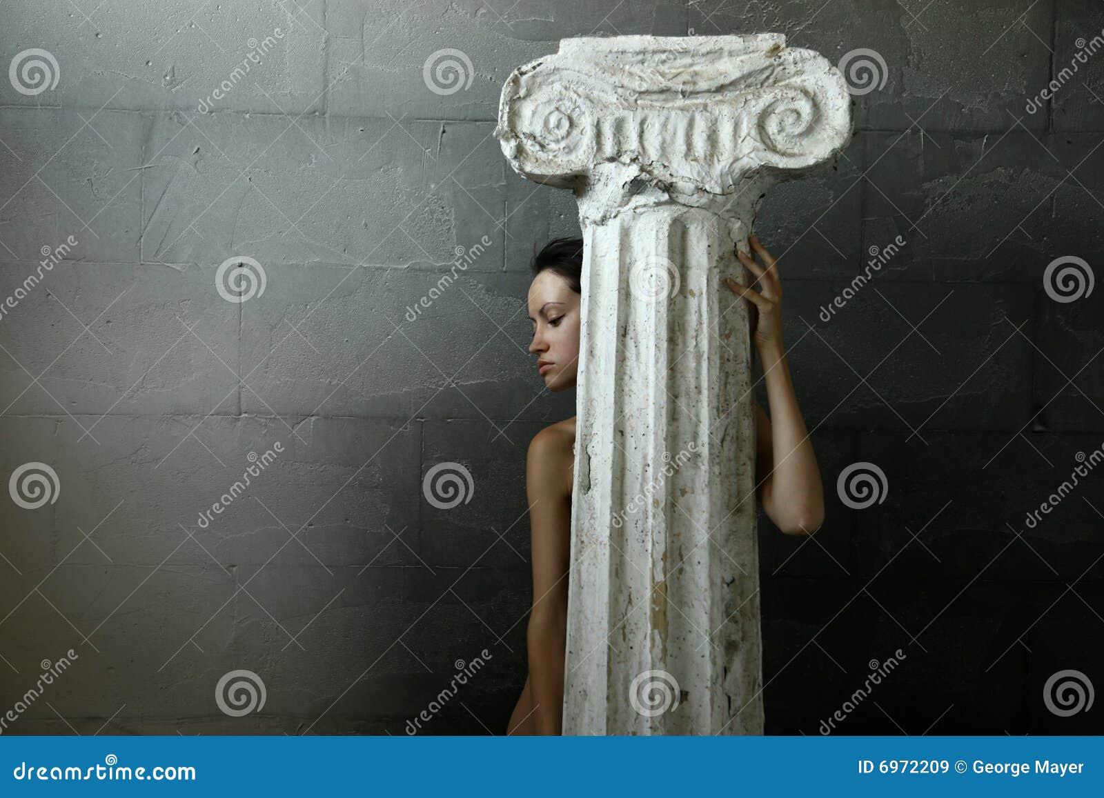 Szpaltowa kobieta