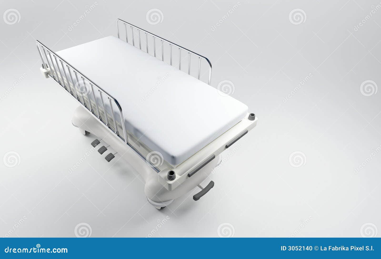 Szpital spać