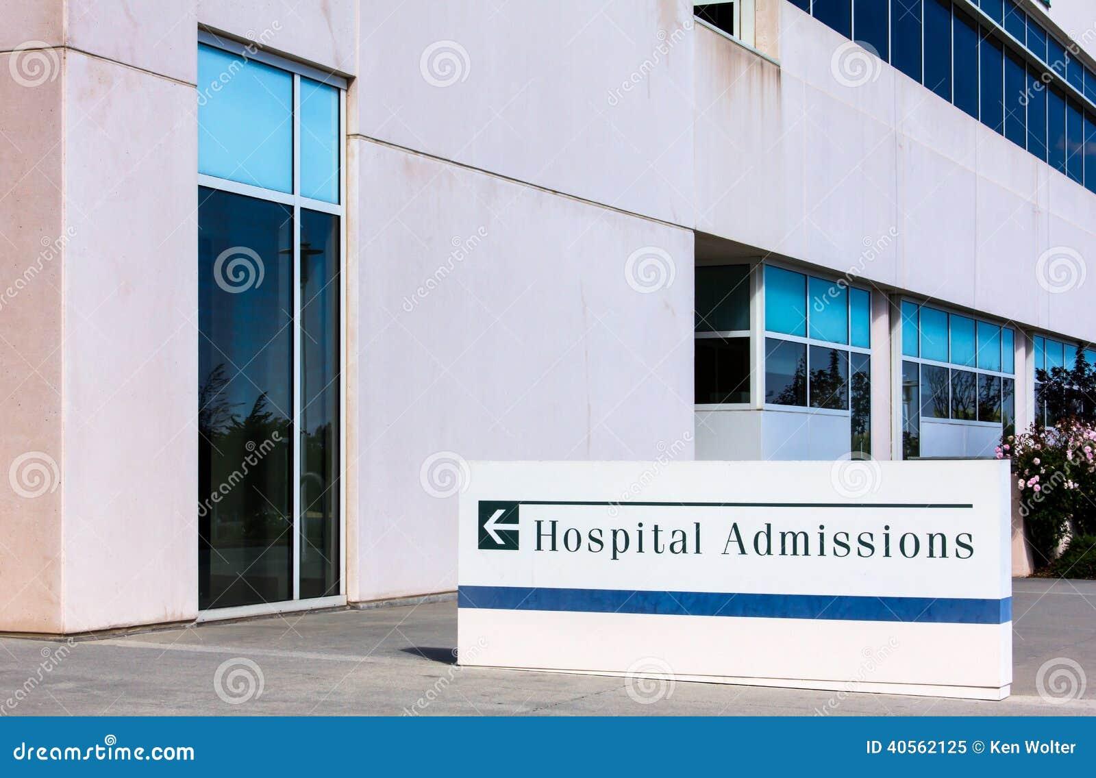 Szpitalnych wstępów znak