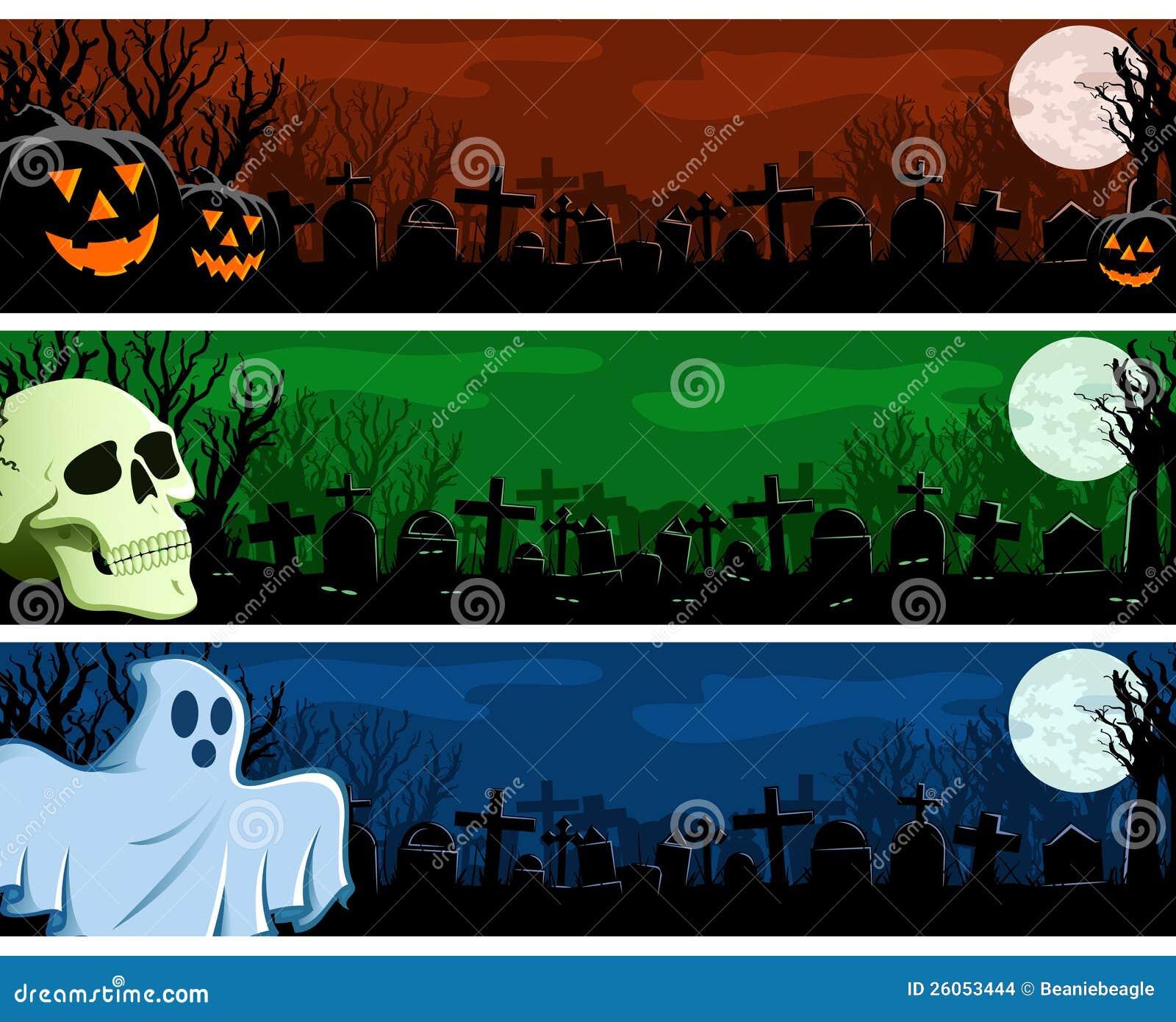 Sztandaru halloweenowy Set