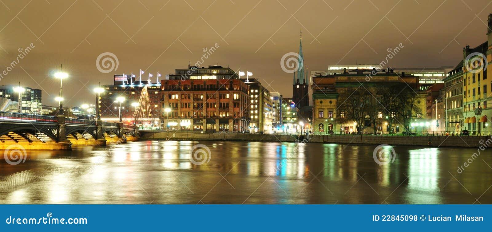 Sztokholm noc