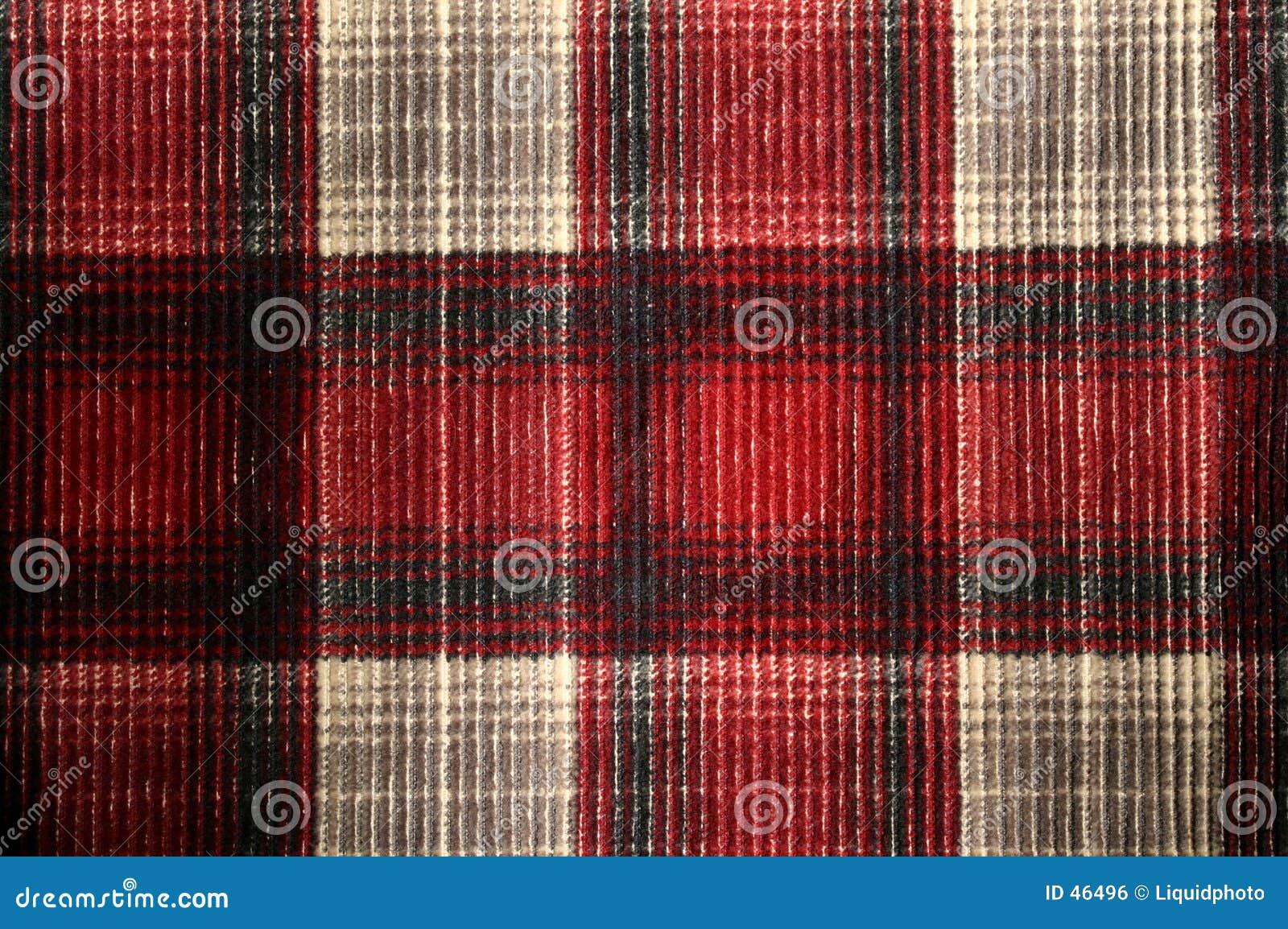 Sztruksowa szkockiej kraty konsystencja