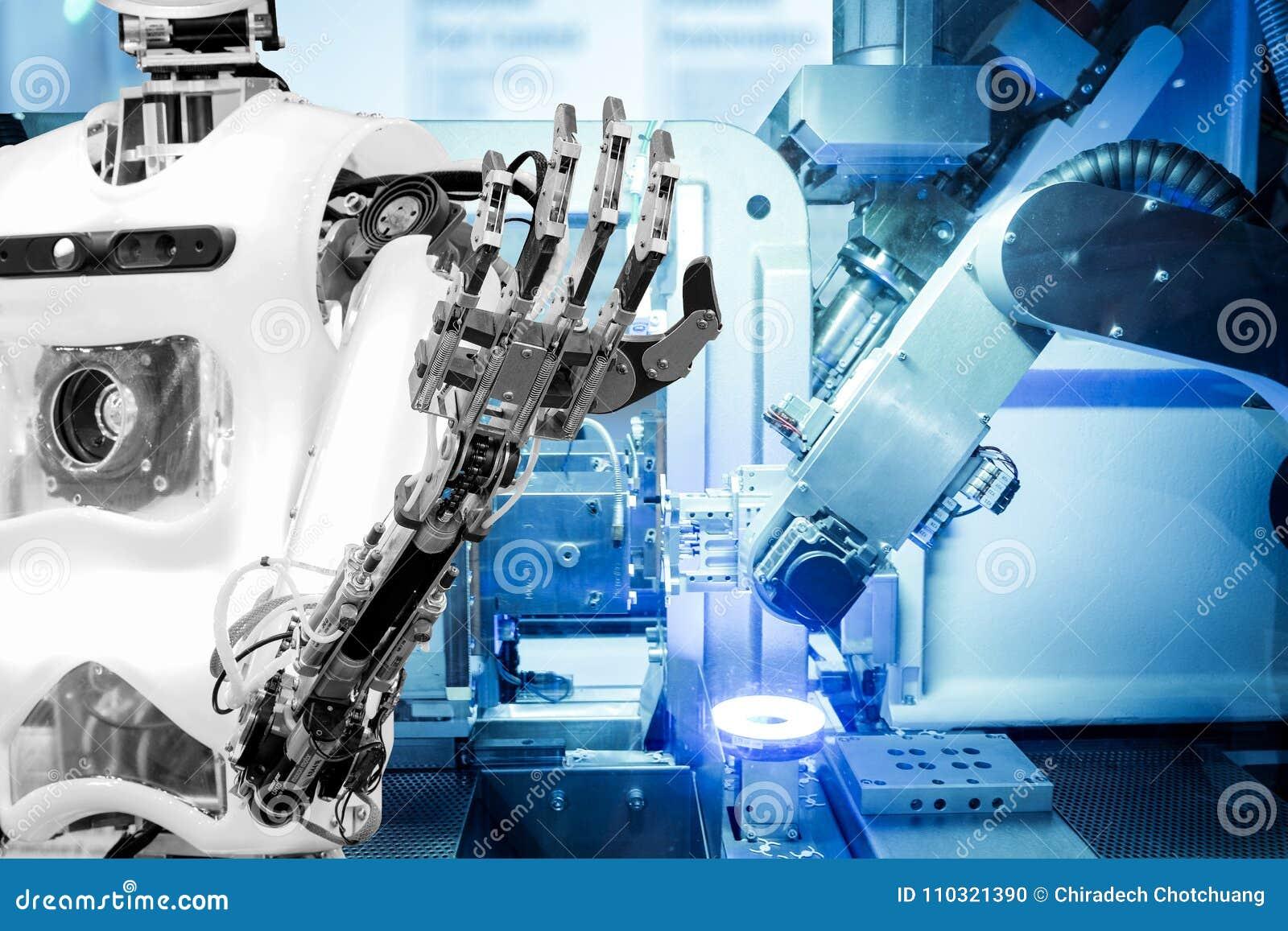 Sztuczna inteligencja pracować zamieniający istoty ludzkie w nowożytnych przemysłach, przemysł 4 Słowo Lokalizować nad tekstem Bi